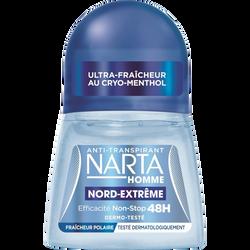 Déodorant homme nord extrême NARTA, 50ml