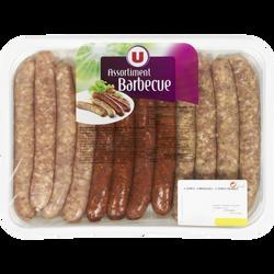 Assortiment barbecue sans colorant, U, Barquette, 660g