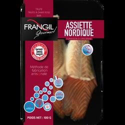 Assiette nordique Frangil, GOURMET, 100g