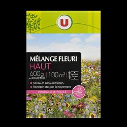 Graines de Jachère Fleurie Haute U, 600G, Environ 100M²