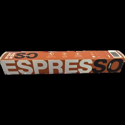 Café lungo BIO ESPRESSO, 10 capsules soit 50g
