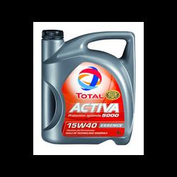 Huile 15W40 pour moteurs essence Activa 5000 TOTAL, 5l