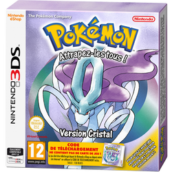 Jeu 3ds POKEMON version cristal