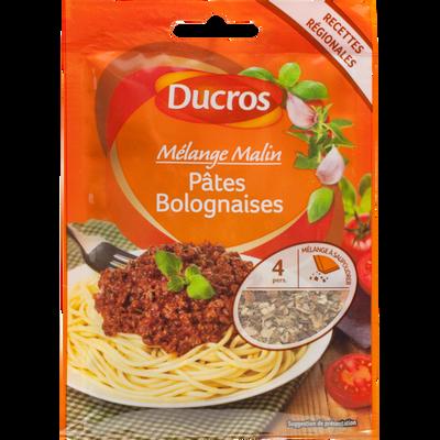 Mélange pâtes bolognaises DUCROS, sachet de 15g