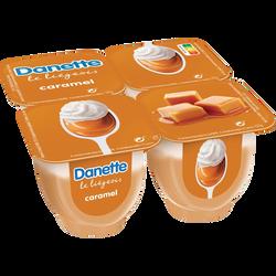 Liégeois au caramel DANETTE, 4x100g