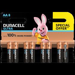 Pile DURACELL Ultra LR6 x8-offre spéciale