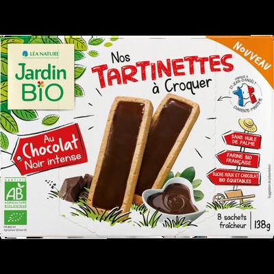 Tartinettes Chocolat Noir JARDIN BIO