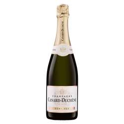 Champagne demi-sec CANARD DUCHENE, 75cl