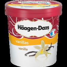 Crème glacée vanille HÄAGEN DAZS, pot de 430g