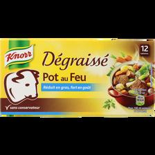 Bouillon dégraissé pot au feu KNORR, 12 tablettes, 120g, 6l