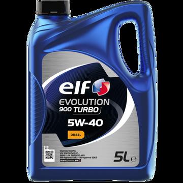 Elf Huile Elf Evolution 900 Turbo Diesel 5w40 5l