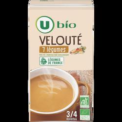 Velouté 7 légumes Bio U, 100cl