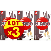LU Biscuits Chocolat Noir Fin Mikado Lu 3x90g Soit 270g
