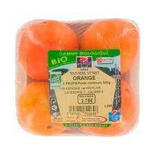 Oranges bio, 4 fruits