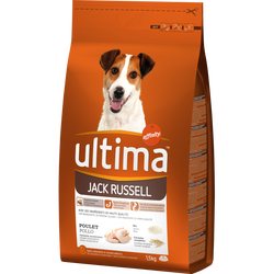 Croquettes pour chiens Jack Russell ULTIMA, 1,5kg
