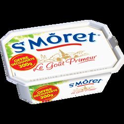 Spécialité fromagère au lait pasteurisé nature ST MORET, 17.8%, 300g