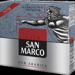 Café moulu SAN MARCO, paquet 2x250g