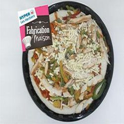 Pizza poulet tikka FABRICATION MAISON 620g