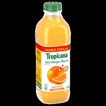 Tropicana Pur Jus D'orange Sans Pulpe Tropicana, 1,5l