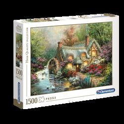 Puzzle 1500 pièces high quality CLEMENTONI Country retreat