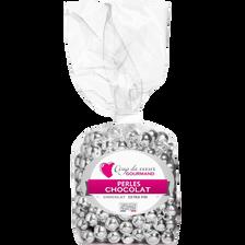 Perles chocolat argentées COUP DE COEUR GOURMAND sac 150g