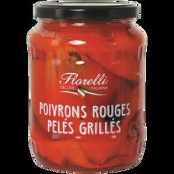 FLORELLI POIVRONS ROUGES PELÉS GRILLÉS 640G