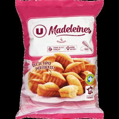 Madeleine coquille aux oeufs U, sachet de 450g