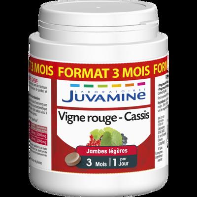 Cure jambes légères Vigne rouge cassis JUVAMINE, format 3 mois