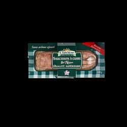 Saucisson Bel Nature à cuire qualité supérieure CLAVIERE, 320g