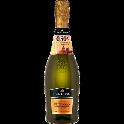 Vin effervescent Italien Prosecco brut Perlino, 75cl + BRI 0,50euros