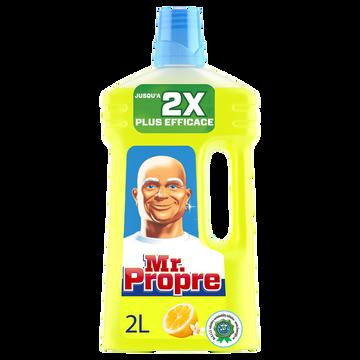 Mr. Propre Nettoyant Multi Usages Puissant Citron D'été Mr Propre 2 Litres