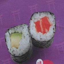 SUSHI HAPPY FIRST X8