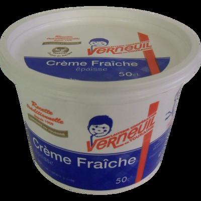 Crème fraîche épaisse VERNEUIL, 30% de MG, 50cl