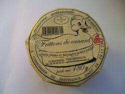 FRITTONS DE CANARD GAILLARD BOCAL 180G