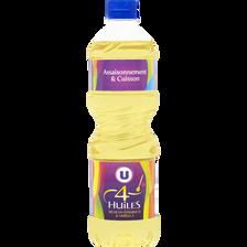 Mélange 4 huiles U, bouteille de  50cl