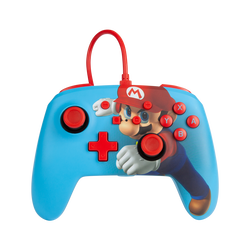 Manette filaire Switch Power A Mario Punch