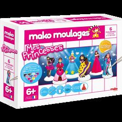 Mako Moulage's - Coffret Mes Princesses - Dès 6 ans