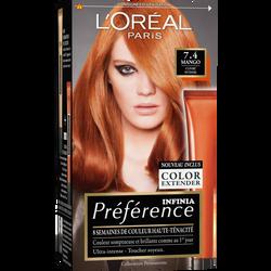 Coloration permanente Récital PREFERENCE, Féria Mango, n°74