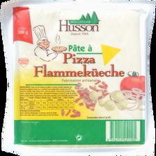 Pâte à pizza ou flemmenküeche artisanale HUSSON, bloc de 500g