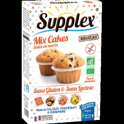 Mix cakes sans gluten mes créations salés ou sucrés, SUPPLEX, 200g