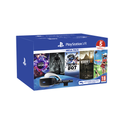 Pack casque VR MK4 SONY+5 jeux