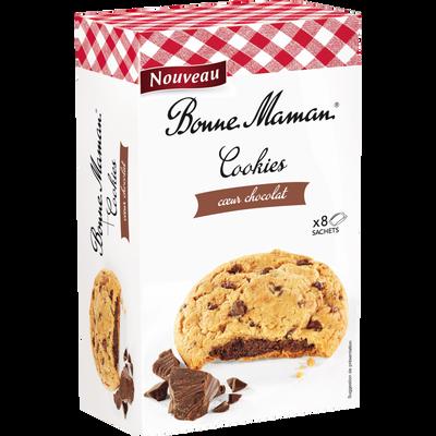 Cookies coeur chococolat BONNE MAMAN, 225g