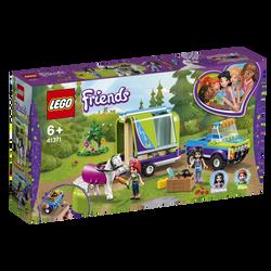 LEGO® Friends - La remorque à chevaux de Mia - 41371 -  Dès 6 ans