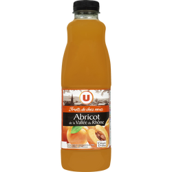 Nectar d'abricot à base de purée de fruits Fruits de chez nous - Abricot de la Vallée du Rhône U, 1L