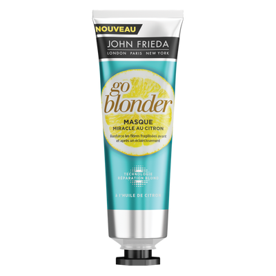 Masque miracle go blonder citron sheer blonde JOHN FRIEDA, 100ml