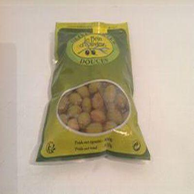 olives vertes douces 500g le brin d'olivier