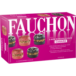 Mini burger chic canard FAUCHON, 100g