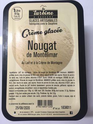 GLACE ARTISANALE NOUGAT DE MONTELIMAR