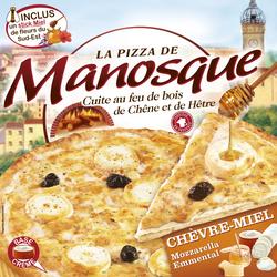 Pizza chèvre-miel LA PIZZA DE MANOSQUE, 380g