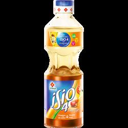 Vinaigrette légère au vinaigre de cidre, pomme et miel Isio4 LESIEUR,bouteille de 45cl